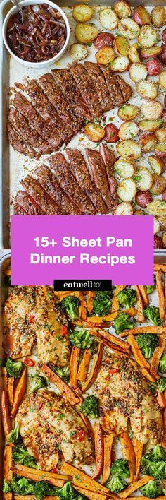 Sheet Pan Dinner Recipes: 15 Quick and Easy One-Pan Meals — Eatwell101
