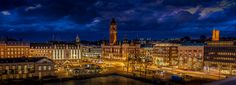Helsingborg city by night by Joachim Andersson #xemtvhay
