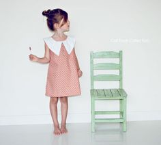 Simply Chic Dress PDF pattern and tutorial - sizes 2t-6t, childrens sewing PATTERN. $6.99, via Etsy.