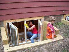 How to Finish Your Basement and Basement Remodeling Finishing your basement can almost double the square foot living space of your home. A finished basement can include new living space such as a r… Basement Window Well, Basement Windows, Basement Walls, Basement Bedrooms, Basement Flooring, Basement Ideas, Basement Finishing, Basement Bathroom, Rustic Basement