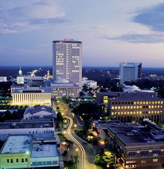 Downtown Tallahassee, Florida - Spent many years traveling here to visit one of my best girlfriends whom attended college at FSU! We had many fun memories here and I remain an FSU fan to this day and will always think of her and our amazing times when visiting Tallahassee, FL. Love you Trish and go Noles!