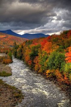 White Mountains New Hampshire USA