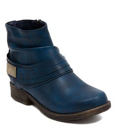 6393e29cd Another great find on  zulily! Navy Saxon Boot  zulilyfinds Cute Boots