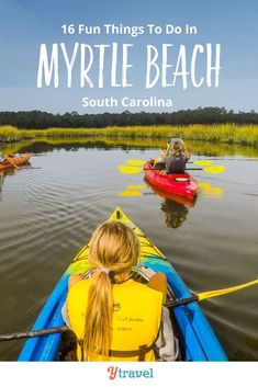 Want to visit Myrtle Beach, SC? Here are 16 awesome things to do on family vacation in Myrtle Beach South Carolina including attractions to see, best things to do with kids, restaurants and where to eat and drink, and best places to stay. Don't take your Myrtle Beach vacation until you have read this Myrtle Beach travel guide! #MyrtleBeach #SouthCarolina #travel #vacation #beachvacation #beach #beaches #usatravel #familytravel #familyvacation