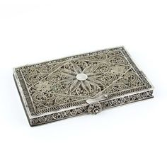 Sterling Silver Cigarette Case, $175, now featured on Fab.