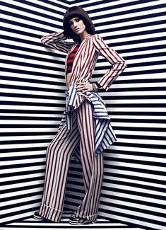 Stripes stripes stripes #Fashion #trends #spring #summer #2013 #stripes #style #stylish #textiles