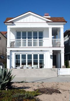 Stunning new Cape Cod beach house on the sand by legendary Graystone Custom Builders. #CapeCod #BeachHouse