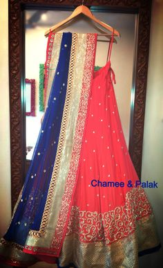 beautiful lehenga, dupatta