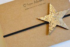 Diadema de estrellas de brillo por SuperAdorable en Etsy