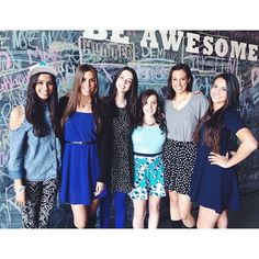 Goodness, I can't explain how much I love these 6 girls!!!!!