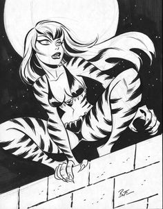 Bruce Timm screenshots, images and pictures - Comic Vine Comic Book Artists, Comic Book Characters, Comic Artist, Comic Books Art, Bruce Timm, Kung Fu Panda, Cartoon Styles, Cartoon Art, Tigra Marvel