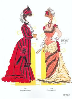 High Victorian Fashions Paper Dolls by Tom Tierney (Bigger and better version) - edprint2000paperdolls - Picasa Web Albums