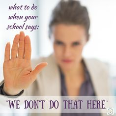You asked for something on your child's IEP and the school says 'we don't do that here.' What you can do next in the special education process.