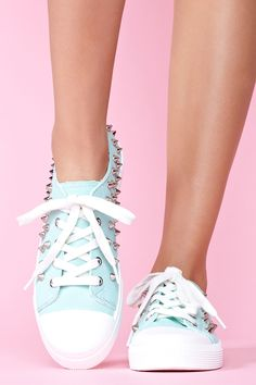 8d2ae909000e Candy Spike Sneakers Studded Sneakers