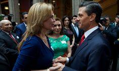 Pavlovich se reúne con Peña Nieto en la Residencia Oficial de Los Pinos