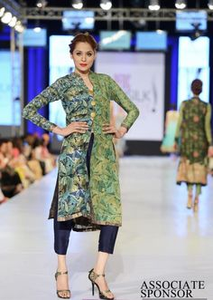 Designer Nida Azwer collection at pfdc fashion week 2013 lahore 16