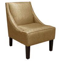 Lena Arm Chair in Glitz