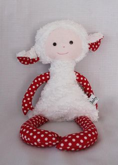 Handmade Lamb softie By Baby Laila, so cute and for can be purchased