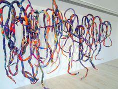 Afbeeldingsresultaat voor Sheila Hicks, textile artist