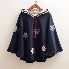 Sweet star cape coat - Thumbnail 1