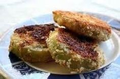 Fried Green Tomatoes - Traditional Cherokee Native American Dish.