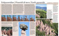 Piramidy ziemne w Longomoso i symbol Południowego Tyrolu Symbols, Travel, Earth, Viajes, Destinations, Traveling, Trips, Glyphs, Icons