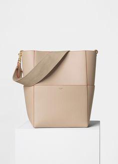 d23e271bab Sangle Shoulder Bag in Shiny Smooth Calfskin - Céline Celine Tote Bag