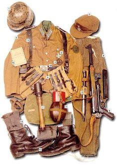 German Yugoslavian Infantry