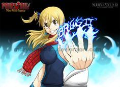 Fire Dragon Slayer Lucy by Maryenne042 on DeviantArt