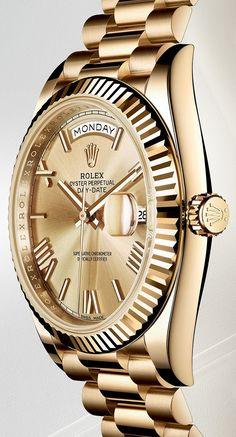 Rolex Oyster Perpetual Day-Date 40 – Новое поколение флагмана Ролекс. Премьера нового мануфактурного механизма | LuxuriousWatches.ru