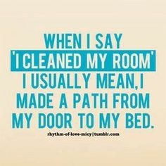 Cleaning my room..:)