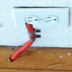 Does this horrify the electricians in my family?