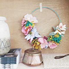 Bloesem Living | Link Love: Bloesem Class - Felt flower making with Rubyellen