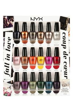 NYX 'Fall in Love' Nail Art Collection http://rstyle.me/n/dtgdkr9te