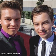 Gavin and Hayden at the Voice Awards! | The Fosters