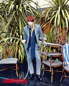 Super Junior - Hee Chul - Cosmopolitan Magazine October Issue '13