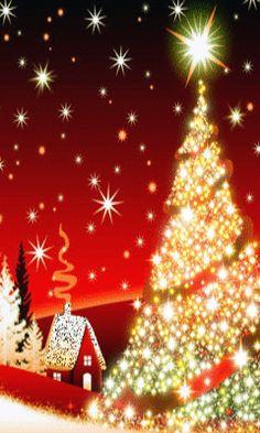 merry christmas wish gif ile ilgili görsel sonucu Christmas Tree Images, Christmas Scenes, Christmas Mood, Christmas Pictures, Christmas Tree Decorations, Christmas Lights, Xmas, Christmas Blessings, Christmas Greetings