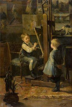 Henry Jules Jean Geoffroy (1853 -1924) – Pintor Francês_25