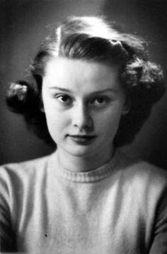 Rare Audrey Hepburn — Audrey Hepburn and her mother, Baroness Ella Van...