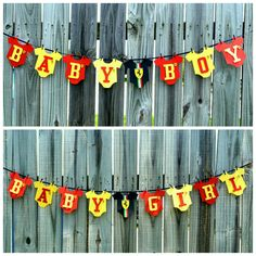 Ferrari inspired Gender Reveal Party Banner, Boy or Girl Banner ...