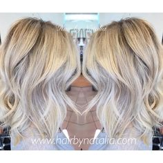 Reversed Balayage.  No more harsh line of demarcation from foil highlights.  Reversed Balayage creates wonderful seamless color melt.