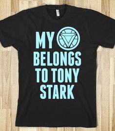 Tony Stark is my boyfriend.