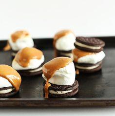 Delectable Peanut Butter S'moreos recipe