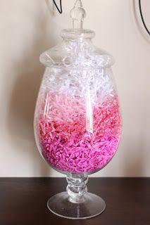 DIY-Ombre Valentine Decoration