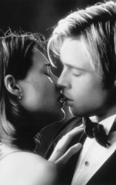 "Kissing needed in the home. From the movie ""Meet Joe Black"""