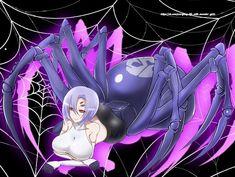 Everyday Life with Monster Girls, monster girl, Rachnera / ラク姉さんお誕生日 - pixiv Monster Musume Rachnera, Monster Musume No Iru, Cool Anime Girl, Anime Art Girl, Monster Museum, Monster Girl Encyclopedia, Pawer Rangers, Anime Monsters, Rwby Fanart
