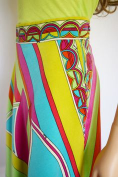 Vintage 1960's 70's EMILIO PUCCI PsYcHeDeLiC di ElectricLadyland1, $449.99