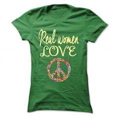 Real women love Peace T-Shirts, Hoodies, Sweatshirts, Tee Shirts (22.99$ ==► Shopping Now!)