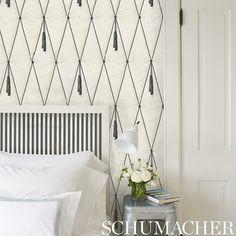 Schumacher Paul Poiret wallpaper