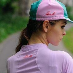 wtfkits: Nice @mack_cycling ・・・ #cyclingcap #wtfkits #womenscycling Bike Clothing, Cycling Jerseys, Baseball Hats, Cap, Girls, Beauty, Veil, Biking, Baseball Hat